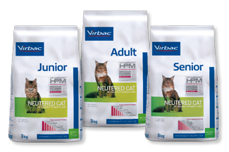 Veterinary HPM Neutered Cat range