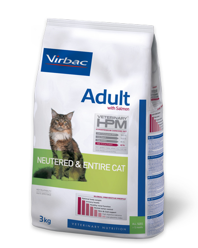 HPM Adult Neutered Cat with Salmon